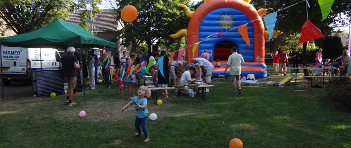 Buurtfeest 10 september 2016