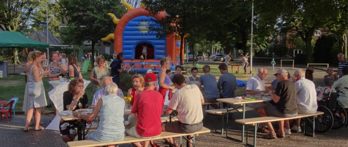 Buurtfeest 14 sept 2016: the day after