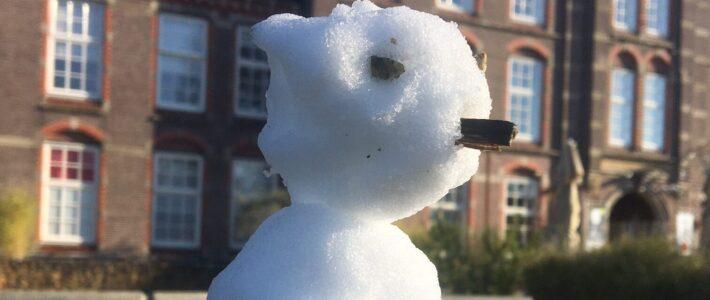 Wat sneeuw biedt wat vertier