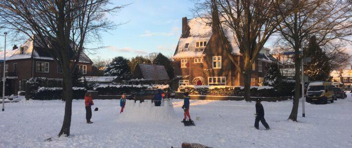 Winterweer zorgt voor winterpret